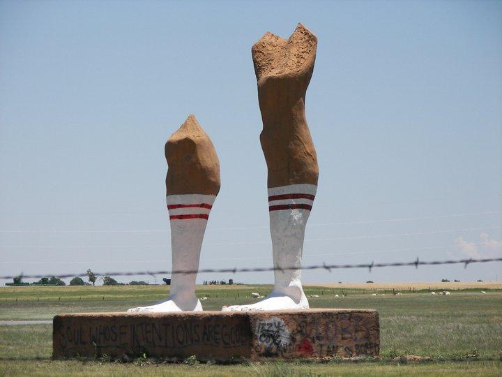 Resultado de imagen de Ozymandias On The Plains, Texas, EE. UU.