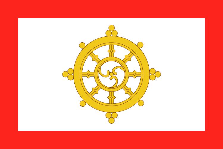 Resultado de imagen de la bandera de Sikkim