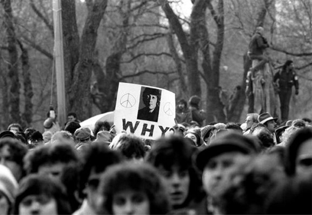 Resultado de imagen de John Lennon Memorial, Central Park, Nueva York, 1980
